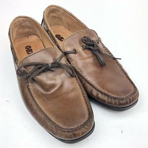 GBX | Henley Mens Moc Toe Driving Loafers sz 8.5 D